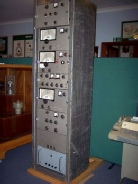 Marconi HR24 Dual Diversity Receiver rack used for long distance FSK or SSB transmissions, 1960s or 1970s